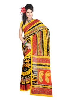 Digital #Dani Georgette Printed #Saree Let your style talk this season, drape this elegant attire that comes with sheer perfection in itself. The saree features dani georgette in its material with enchanting printed work, designed intricately. The saree is fused with brilliant material that really satisfies your fashion desire. Available in 18% Discount @aimdeals