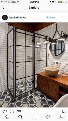 Love the shower doors
