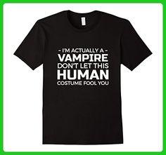Mens Halloween Vampire T shirt - Halloween costume TShirt XL Black - Fantasy sci fi shirts (*Amazon Partner-Link)