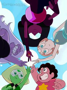 The World of Steven Universe, afoxinwonderland:   We are the Crystal Gems!