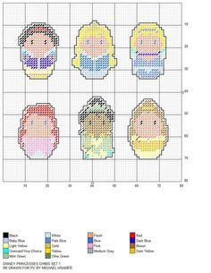 31 Ideas Crochet Bookmark Cross Disney Princess For 2019 Plastic Canvas Ornaments, Plastic Canvas Christmas, Plastic Canvas Crafts, Plastic Canvas Patterns, Beaded Cross Stitch, Cross Stitch Embroidery, Beading Patterns, Embroidery Patterns, Totoro