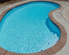 Here's a #10/2 design that was a full-on restoration of an existing pool.  The homeowner wanted a smaller, insulated pool. So first we demo'd the old pool then built this kidney pool in the same spot.