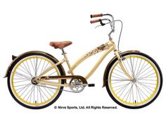 I love the Nirve bikes!!  Lahaina style in cocoabutter color.  Ahhh, these make me happy!!