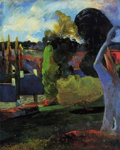 Farm in Brittany 1894 2 | Paul Gauguin | oil painting