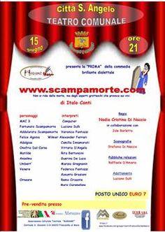"""Città S.Angelo,in scena """"www.scampamorte.com"""""""