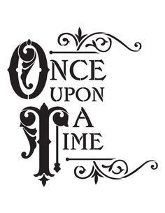 """Stencils of Signs, Words & Phrases Reusable Stencils, """"Once Upon A Tile"""" Signage, Fairytale Signs. Stencil Patterns Letters, Stencil Templates, Letter Patterns, Letter Stencils, Stencil Art, Stencil Designs, Alphabet Templates, Disney Stencils, Silhouette Art"""