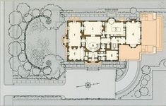Dramlin Hall - The site plan and house (1618×1036)