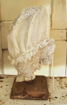Lace Night Cap From France