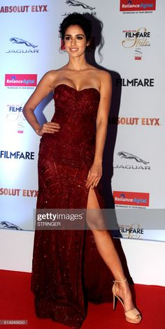 Indian Bollywood actress Disha Patani attends the 'Filmfare Glamour...