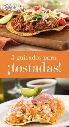 Cinco guisados que puedes servir en tostadas   CocinaDelirante