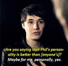 Phil is the best person in the whole world