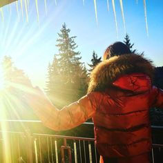 #GoodMorning #Morning #Sunrise #Travell #Beauty #Moncler #Pamporovo #Bulgaria""