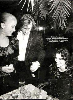 Catherine Deneuve, Fanny Ardant et Gérard Depardieu