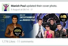 MANISH PAUL update their cover photo....FB