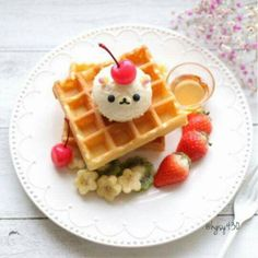 Discover recipes, home ideas, style inspiration and other ideas to try. Japanese Dishes, Japanese Candy, Japanese Deserts, Japanese Pastries, Japanese Food Art, Japanese Sweets, Cute Baking, Kawaii Dessert, Good Food