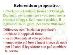 Risultati immagini per referendum popolare propositivo