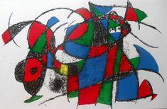 Spanish artist Joan Miro (1893 - 1983)