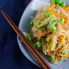 Shirataki sukiyaki noodles with edamame!  The miracle noodle cooked how it was meant to. Delicious and healthy!