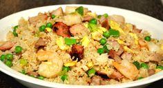 Filipino Yang Chow Fried Rice http://www.cheflogrorecipes.com/filipino-yang-chow-fried-rice/