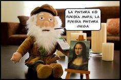 Da Vinci: un artista con todas las de la ley <3