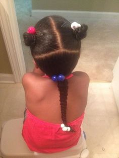 When you scroll through Pinterest and find your own child's pic from an older hairstyle :).