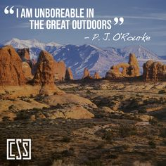 June is National Great Outdoors Month! Go outside!