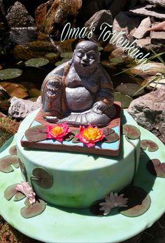 Lotus, Cupcake Cakes, Buddha, Birthday Cake, Asian, Nature, Desserts, Food, Decor