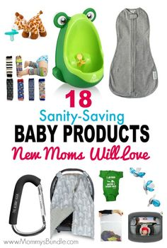 Struggling with caring for a baby and toddler? Have no fear, these sanity-saving baby products will make life a LOT less stressful! Whether you call them baby hacks or helpful tools, you'll love all of these!