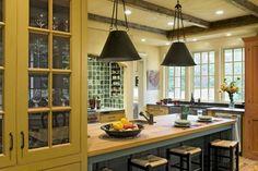 Derby Hill Farm Lyme NH - traditional - kitchen - burlington - Smith & Vansant Architects PC