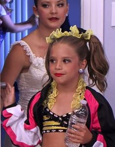 Brooke and Kenzie after solos