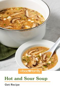 Learn how to make this easy Asian-style classic soup with a little twist! This cozy and flavorful dish is made iconic with shredded chicken, shiitake mushrooms, soy sauce, tofu, bamboo shoots, and more. What gives this particular recipe its flavor is the addition of WYLER'S Instant Bouillon Chicken Flavored Granules, HEINZ Chili Sauce, and Red Wine Vinegar.