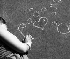 chalk bubbles