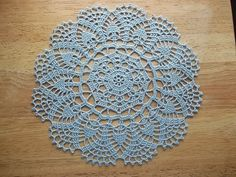 Ravelry: Peony Doily pattern by Mom's Love of Crochet
