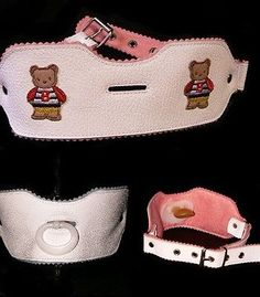 Adult Sissy Baby Pacifier holder Leather - http://clothing.goshoppins.com/costumes-reenactment-theater/adult-sissy-baby-pacifier-holder-leather/