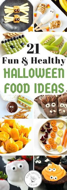 I Love These Guilt Free Halloween Food Ideas