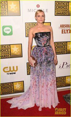Diane Kruger & Keri Russell Go Super Glam for Critics' Choice TV Awards 2014! | diane kruger keri russell critics choice tv awards 2014 05 -...