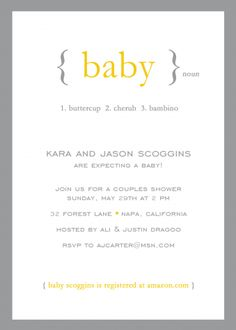 Baby Boy Shower Invitations & Party Invitations for baby boy showers - Define: Baby by mink - Mink Cards