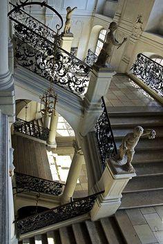 Palace Stairway, Germany, photo via species