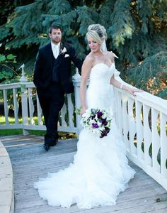 Nicole and Tommy - gorgeous picture - photo courtesy of Cadey Reisner Weddings