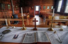 https://flic.kr/p/ydNnLe   Religiouscape   After many trips to the ghost town of Dorothy, Alberta, I finally went into the churches there. Much to my surprise, they are in beautiful condition. This is the priest's view at the Roman Catholic church. I'll show you the inside of the United Church in a future posting.
