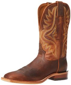 Tony Lama Men's Worn Goat 7956 Western Boot,Tan,12 D US - http://authenticboots.com/tony-lama-mens-worn-goat-7956-western-boottan12-d-us/