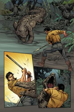 Lord of the Jungle #02 - Page 15 - Color by alexguim on DeviantArt