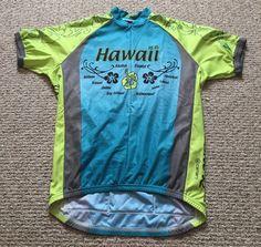 NEW Hawaii Aloha State Cycling Jersey  Canari  Mens Size XL