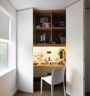 die besten 25 versteckter schreibtisch ideen auf pinterest murphy schreibtisch murphy betten. Black Bedroom Furniture Sets. Home Design Ideas