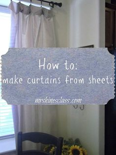 Hometalk :: Curtains on a Budget :: Days of Chalk and Chocolate's clipboard on Hometalk