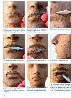 Clay, mouth tutorial