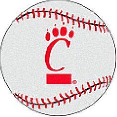 Fanmats Cincinnati Bearcats Baseball-Shaped Mat