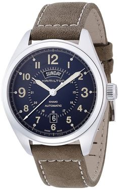 New Hamilton Men's Khaki Field Day Date Automatic Watch H70505833 #Hamilton #LuxuryDressStyles