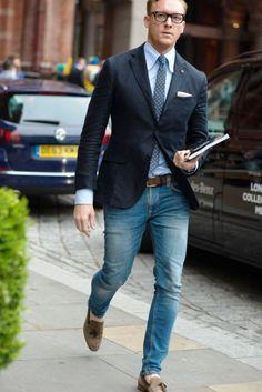 Elegante Herren-Office Outfit-Ideen