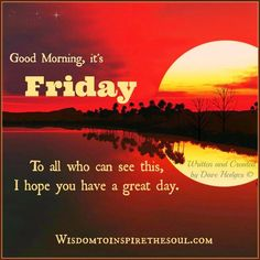 Good Morning It's Friday Pictures, Photos, and Images for Facebook, Tumblr, Pinterest, and Twitter